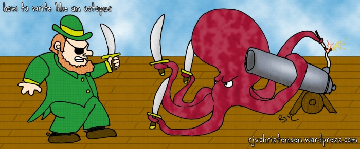 Octopus vs.Pirate Leprechaun